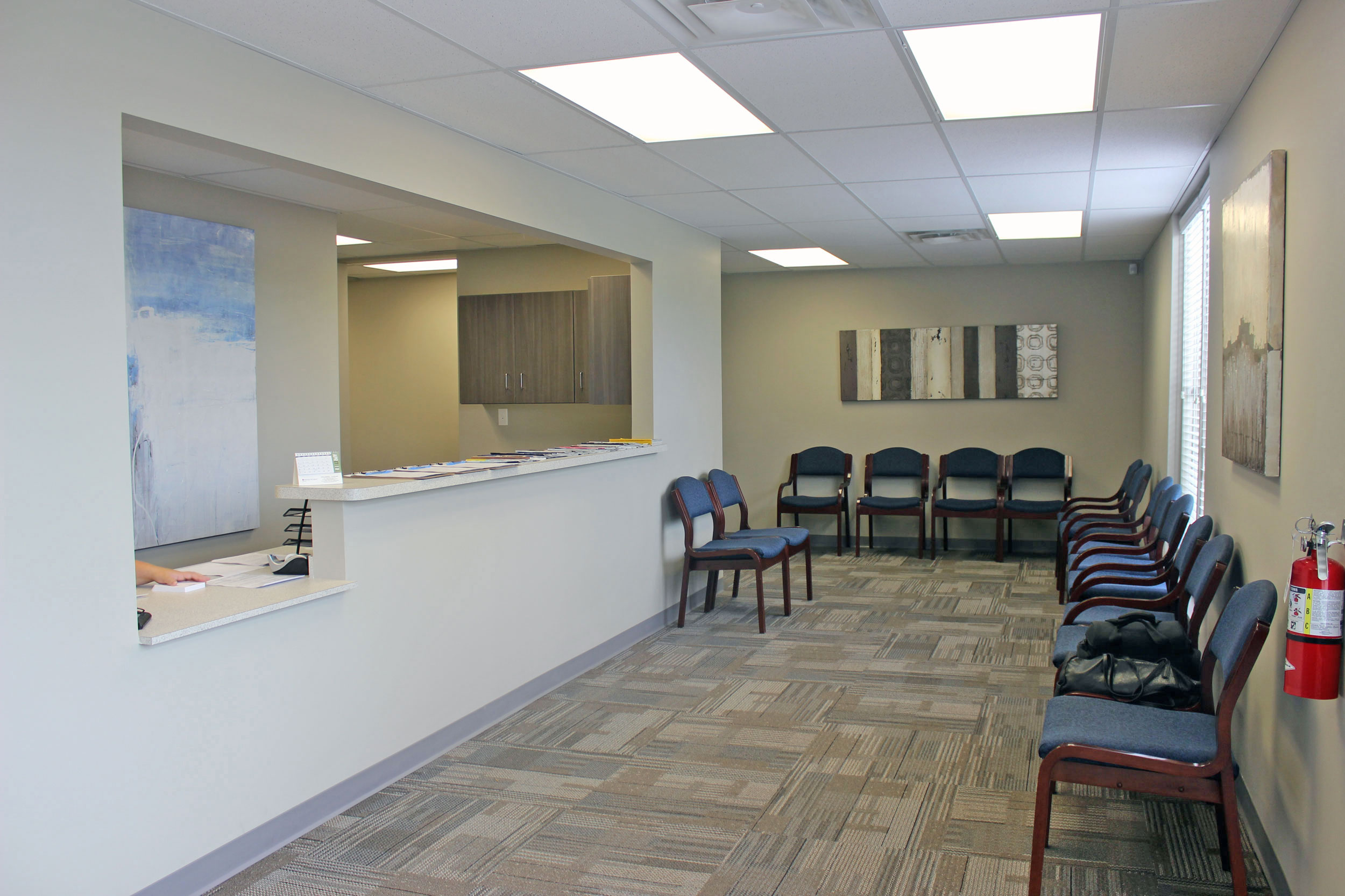 Beechcroft Family Dental Waiting Room